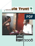 Mvule Trust Annual Report, 2008