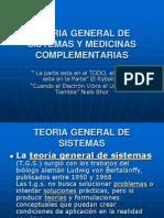 Teoria General de Sistemas y Medicinas Complementarias