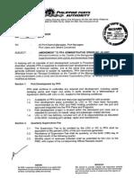 PPA Administrative Order 006-2013