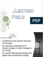 Electric Field - Potential Difference