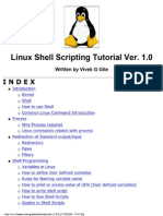 Linux Shell Scripting Tutorial