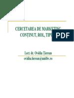 1 Introducere in Cercetarea de Marketing
