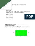 Video-aula 6 - equações