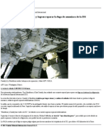Dos Astronautas Salen Al Espacio y Logran Reparar La Fuga de Amoniaco de La ISS _ Ciencia _ Elmundo