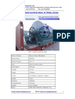 DY-1-5 Tyre Pyrolysis Plant of Doing Group