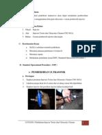 Praktikum Injector Tester Dan Ultrasonic Cleaner CNC-601A