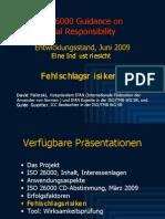 ISO 26000 (6) Fehlschlagsrisiken 2009-06n