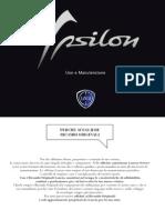 Istruzioni vettura Lancia Ypsilon 5porte 2012