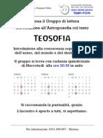 Teosofia a Lecco, calendario 2014