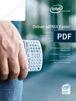 Deliver Wimax Faster