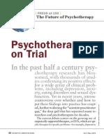 SciAm PsychotherapyonTrial