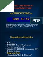 ISO 26000 (6) El Riesgo de Fallo 2009-06n