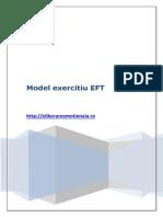 Partea 2_Model Exercitiu EFT