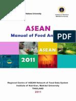 ASEAN Manual of Food Analysis
