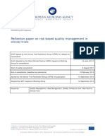 Risk Based Quality Management in Clinical Trial