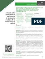 Capacitación en investigación brindada a los estudiantes de medicina de la facultad de medicina de la Universidad de Panamá