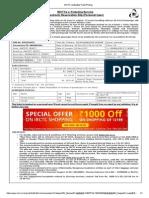 Banglore Ticket