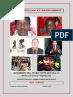 Reforma Constitucional Del Afrodescendiente