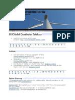 Propeller Coordinates
