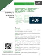 Producción científica de los estudiantes de medicina de la Universidad de Panamá
