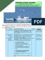 Notification Indian Coast Guard Asst Commandant Posts1