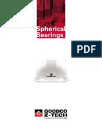 Goodco Z Tech Spherical Bearings