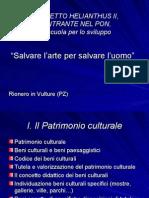 I. Il Patrimonio Culturale