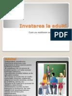 Invatarea La Adulti
