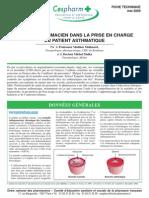 Role Du Pharmacien Dans La Prise en Charge Du Patient Asthmatique Fiche Technique