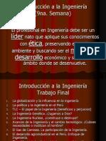 Clase9 Introduccion a La Ingenieria