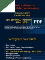 ISO 26000 (4) CD Abstimmung 2009-06
