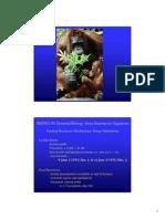 Biochemistry Lect 1 2011 Colour 2 Slides Per Page