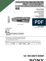 Sony SLV-ED15-ED25-ED33-EDXX.....