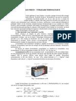 18. Pile Electrice- Utilizari Tehnologice