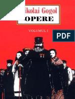 Nikolai Vasilievici Gogol - Opere, Vol. 1