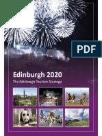 Edinburgh 2020 the Edinburgh Tourism Strategy PDF