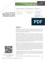 Azithromycin treatment of drug induced gingival hyperplasia in renal transplant patients