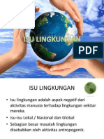 ENVIRONMENTAL ISSUES, ISU LINGKUNGAN