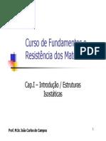 Cap. I - Introdução - Estruturas Isostáticas v2