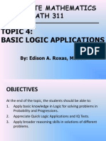 04_ECE MATH 311_Basic Logic Applications