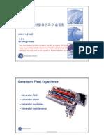 Generator Fleet Experience