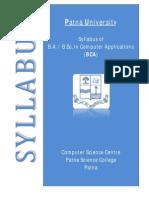Syllabus BCA