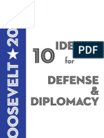 10 Ideas for Defense & Diplomacy, 2009