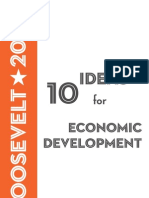 10 Ideas for Economic Development, 2009