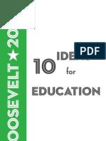 10 Ideas for Education, 2009