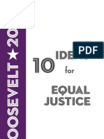 10 Ideas for Equal Justice, 2009