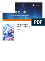 Enterprise Agile - Patterns for Success