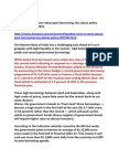 GOI Borrowing Progs & the Liquidity Crisis