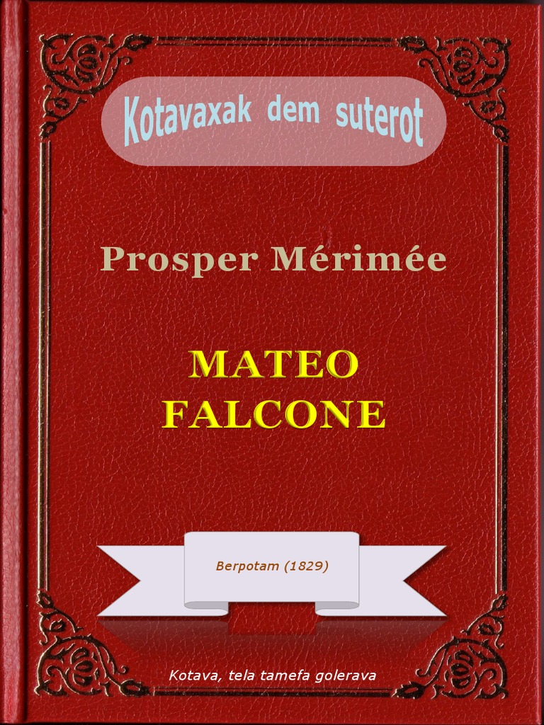 Ino Store Porto Vecchio mateo falcone, ke prosper mérimée