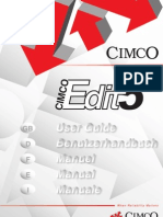 CIMCO Edit 5 Manual Deutsch